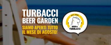Turbacci Beer Garden – Apertura estiva